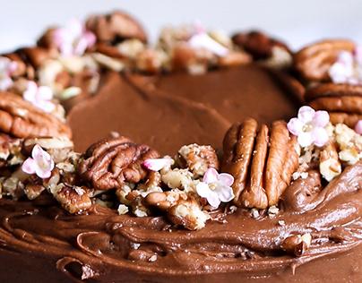 Velvety Vegan Chocolate Cake