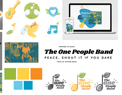 One People Band Branding/Web Design
