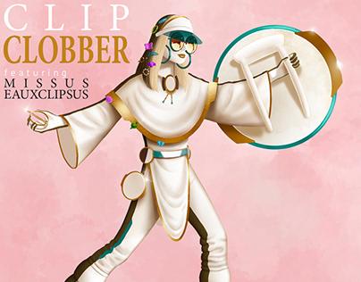 """""""Clip Clobber"""" experimental comic"""