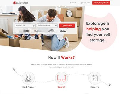 Web Design - Explorage
