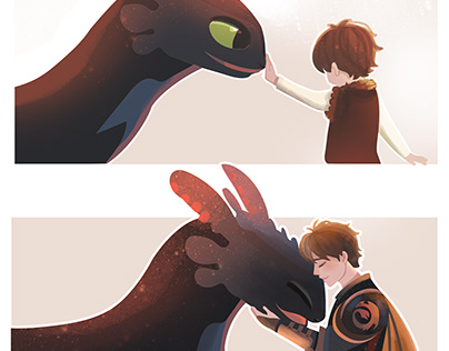 How to train dragon : Then&now