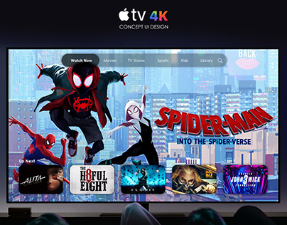 Concept for AppleTV 4K