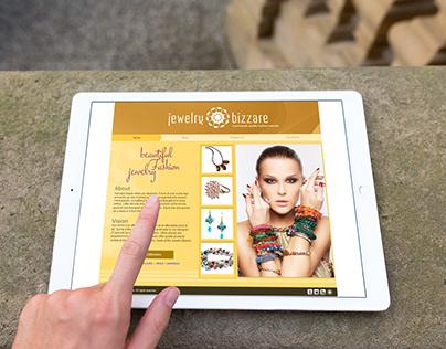Jewelry eCommerce Website - Custom Web Design