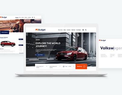 Budget UK - Website Redesign