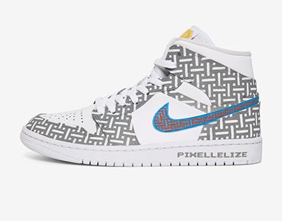 Pixellelize Nike Series / Pixel Art
