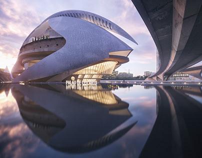 The Valencia Opera House
