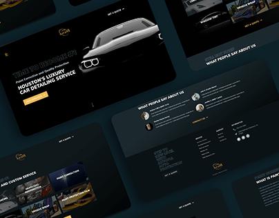 Luxury Auto Business / Web Design & Development