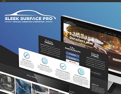 Sleek Surface Pro - Web Design
