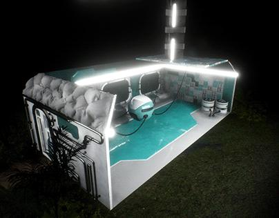 Unreal Engine Sci-Fi Interior