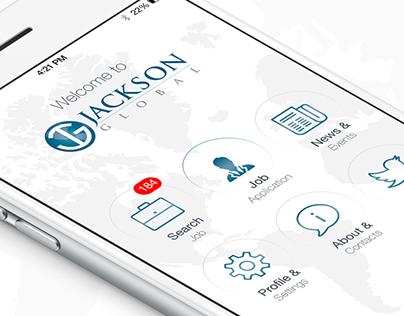 Jackson Global - Mobile App Design