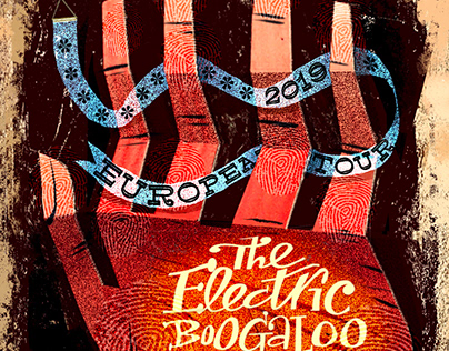 Electric Boogaloo Band Gig Poster 2019