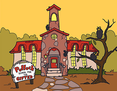 Lyf 4 Dumeez Animated Series Original Pitch Art