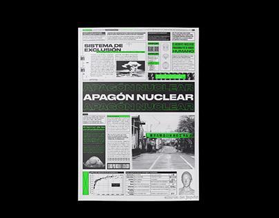 APAGÓN NUCLEAR – Newspaper
