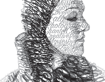 Typographic Portrait, Fall 2016