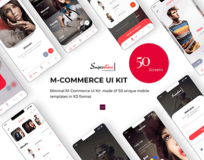Superstore App UI Kit