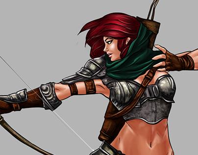 Character Design & Digital Paint