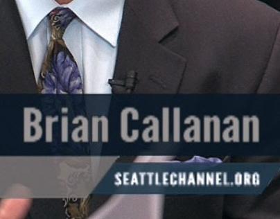 Ask the Mayor broadcast graphics