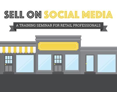 Sell on Social Media Post Card