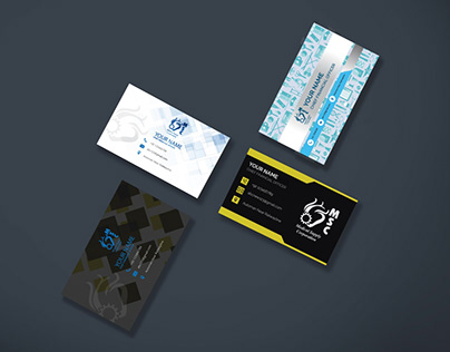 Medical Supply Printable Visiting Cards for Client