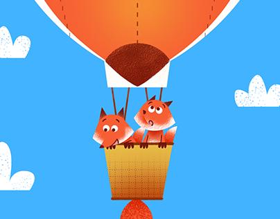 Foxes Air Baloon