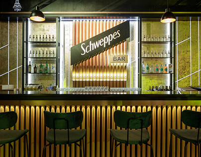 Schweppes bar in Moscow