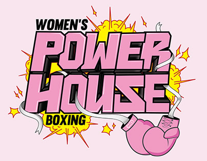 """Women's Power House Boxing"" Logo"