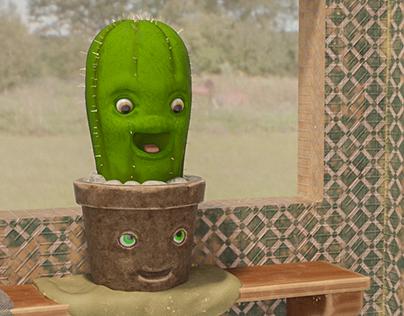 El cactus y la Maceta