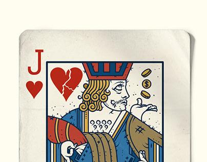 Anúncio Cartas: KING, QUEEN E JACK