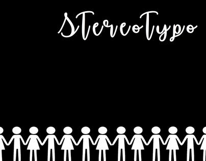 Stereotypo - Book idea