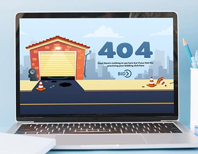404 -Error page!