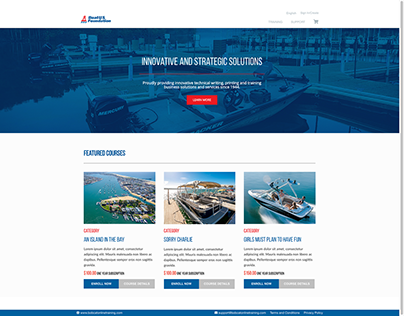 BoatUS Online Training Delivery System
