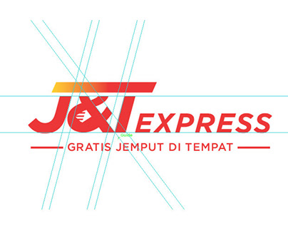 The New J&T Express Indonesia Logo & Website Redesign