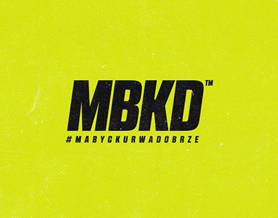 MBKD clothing brand concept
