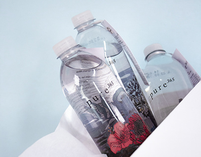 pure365 - limited edition mineral water