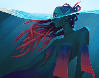 Illustration - Magical creatures