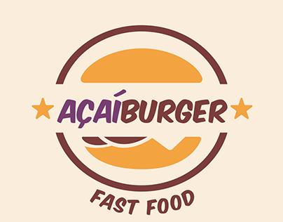 Marca - AÇAÍBUGER FAST FOOD