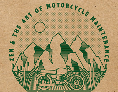 Zen & The Art of Motorcycle Maintenance Stamp