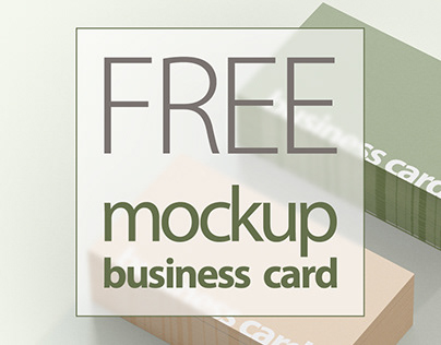 FREE MOCKUP Business Card