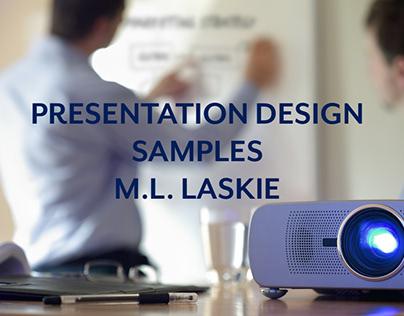 Presentation Portfolio Samples