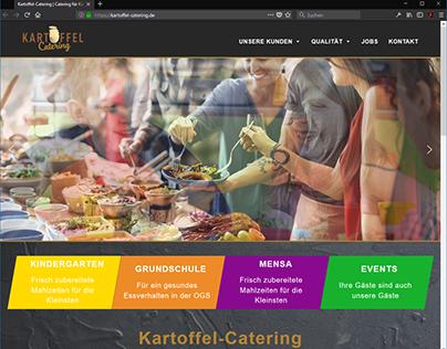 Webseite für Kartoffel-Catering