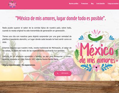 Website Mexico de mis amores