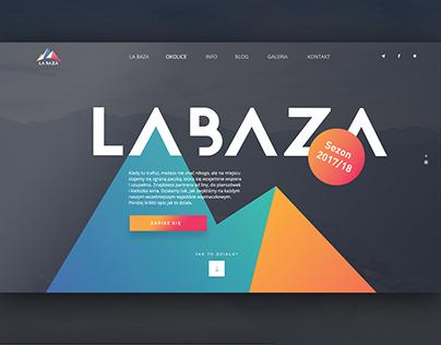 La Baza - webdesign