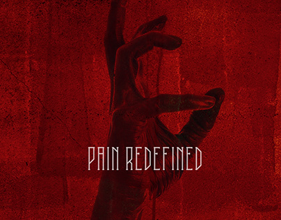 Pain Redefined Albume Cover Design
