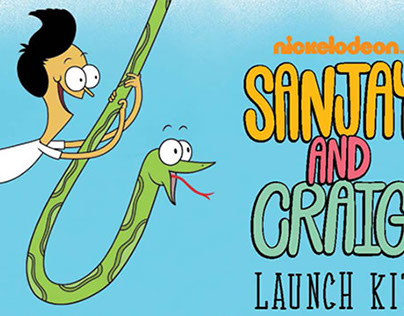 SANJAY AND CRAIG: Show Launch Kit