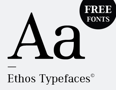 Ethos Typefaces