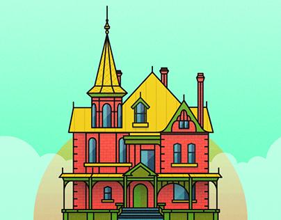 Rosson House Illustration