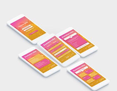 Summerville - App Design