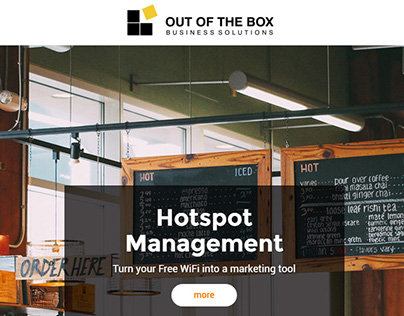 Out of The Box Business Solutions Website