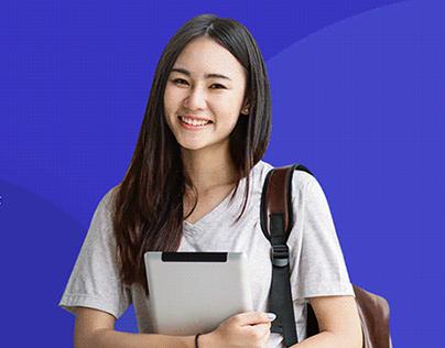 Fullstack Web Development - Landing Page Tuyen sinh