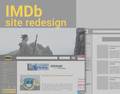 IMDb redesign proposal